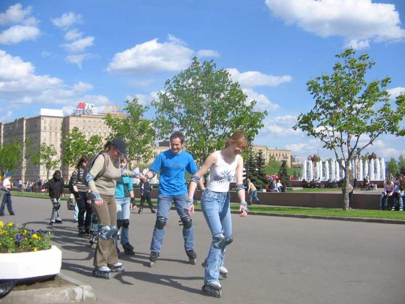 Где в Москве лучше всего кататься на роликах?
